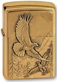 Зажигалка Zippo 20854 Eagles Brushed Brass
