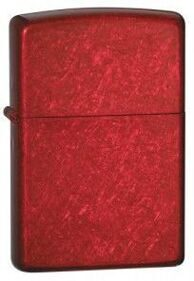 Зажигалка Zippo 21063 Candy Apply Red