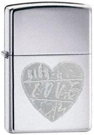 Зажигалка Zippo 24198 For The Love Of Chrome